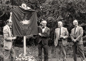 Black and White Image of SMPA members