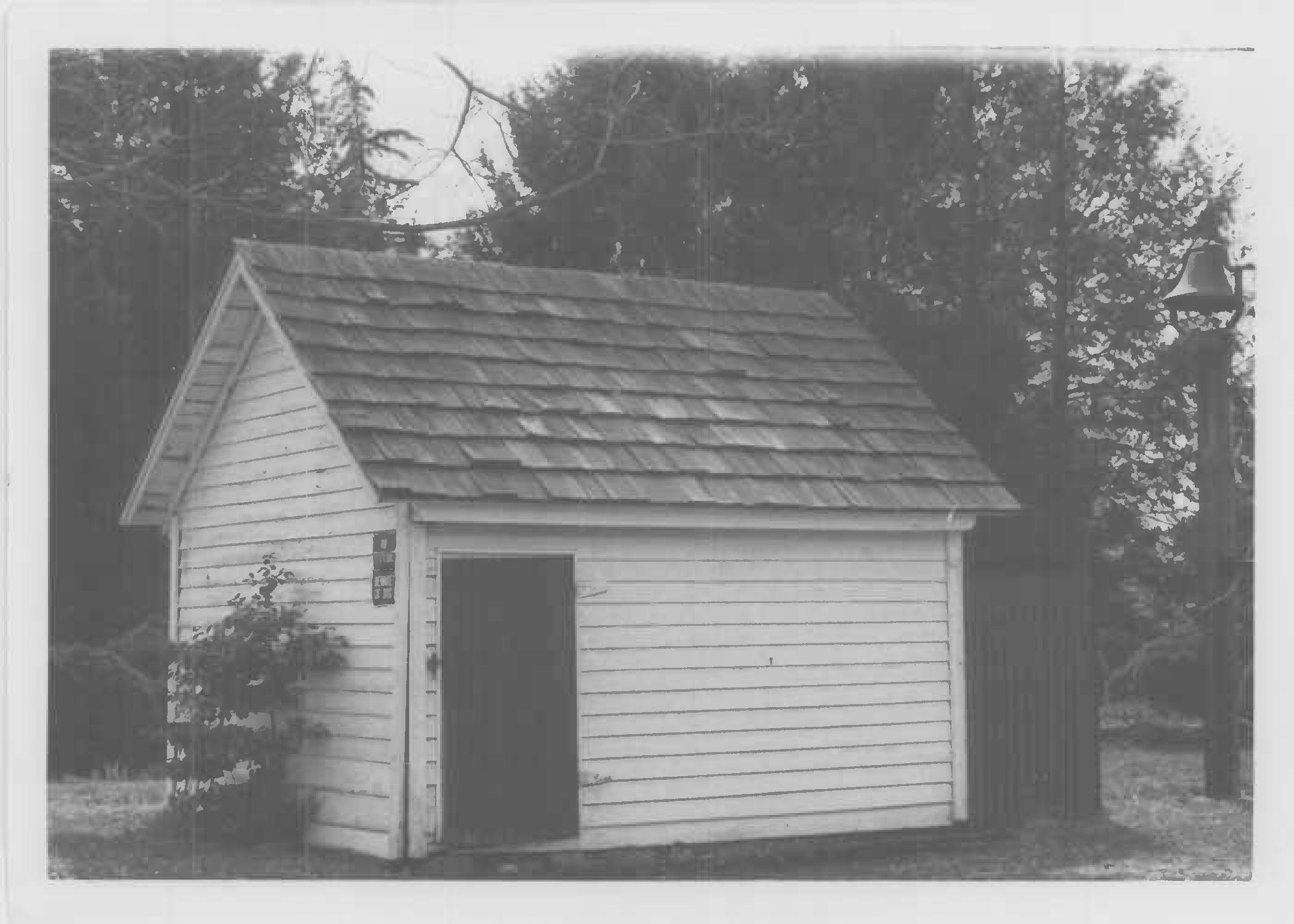 Meathouse, north elevation in Maryland