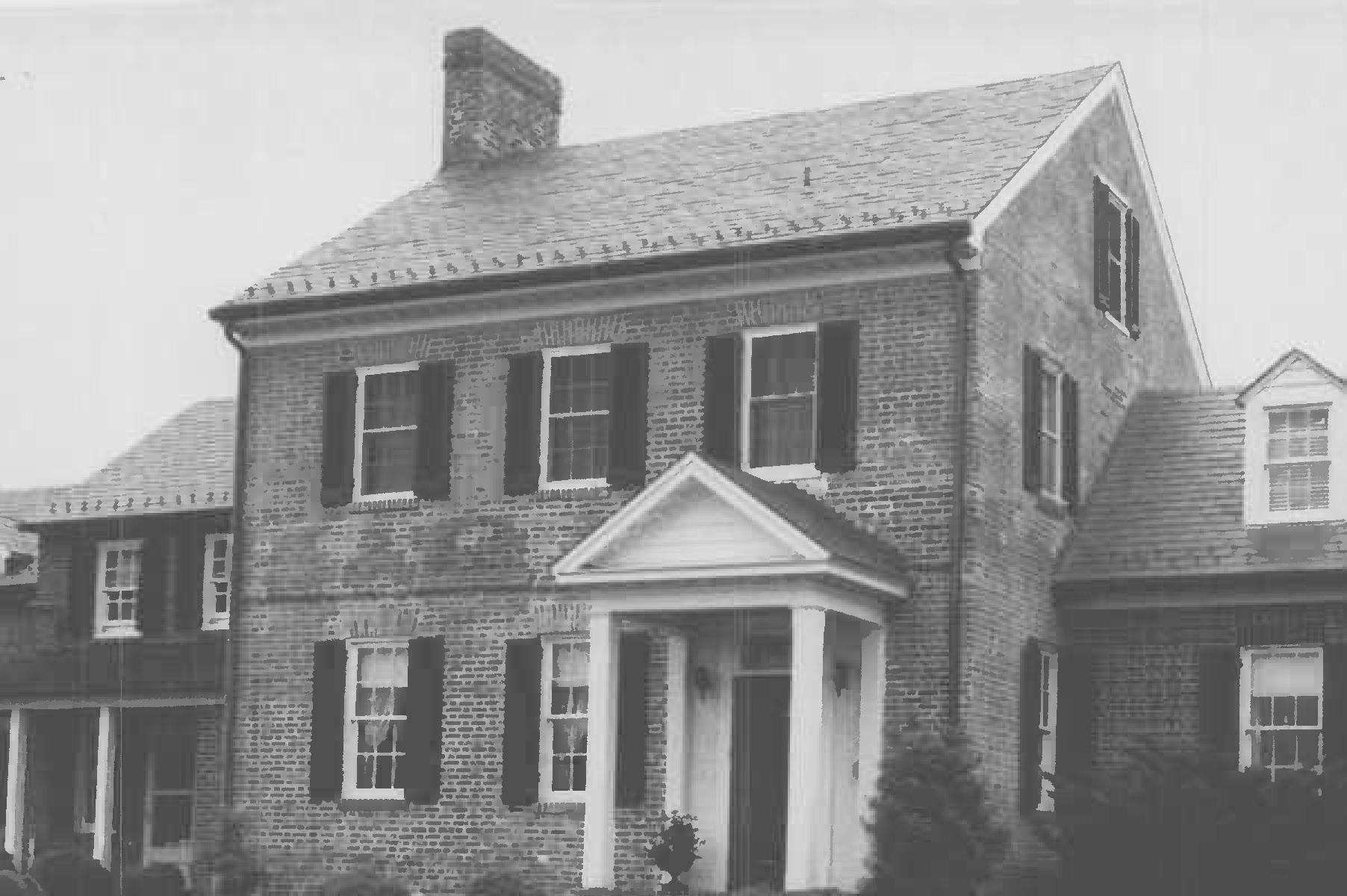Whites Hall, photo by William D. Morgan in Maryland