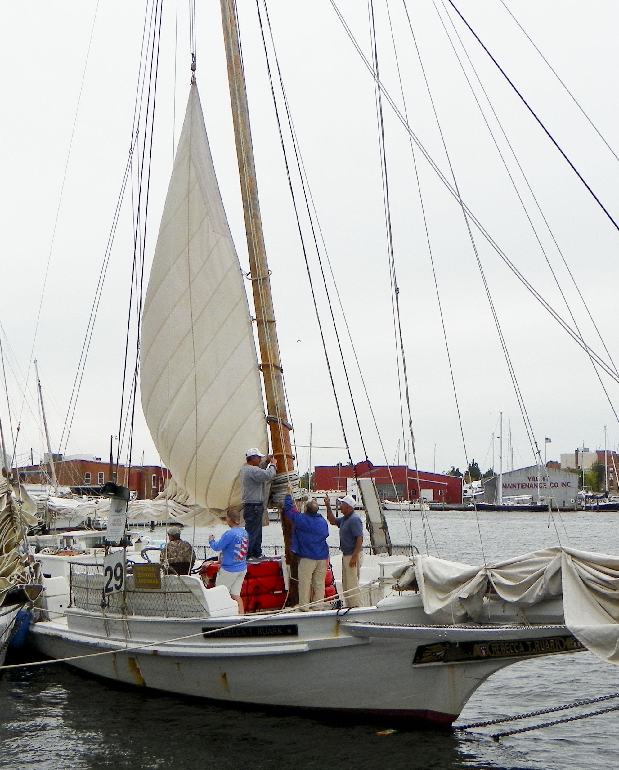 Rebecca T. Ruark Skipjack Boat in Maryland