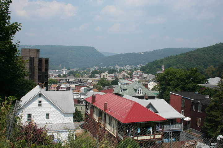 Image of Western Maryland mountains.