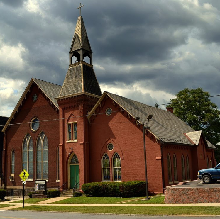 Historic church slated for demolition as part of project.
