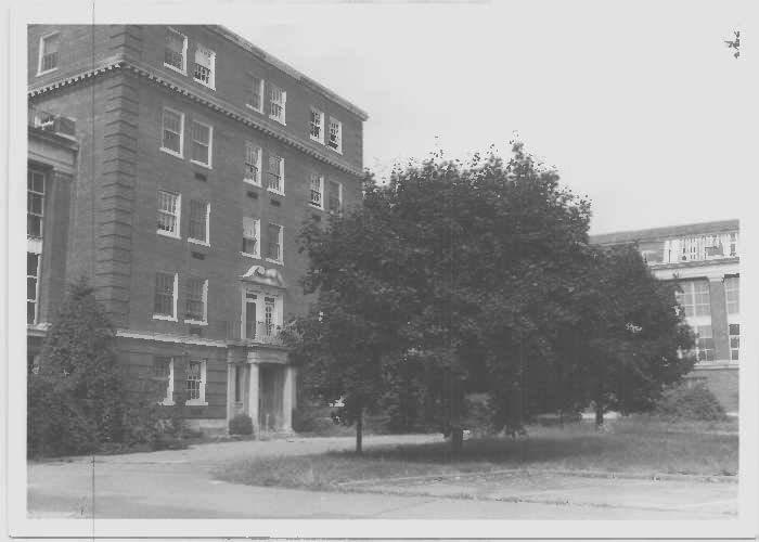 Glenn Dale Adult Hospital at the southeast