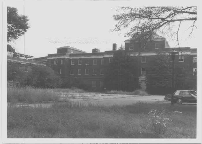 Glenn Dale Children's Hospital at the north