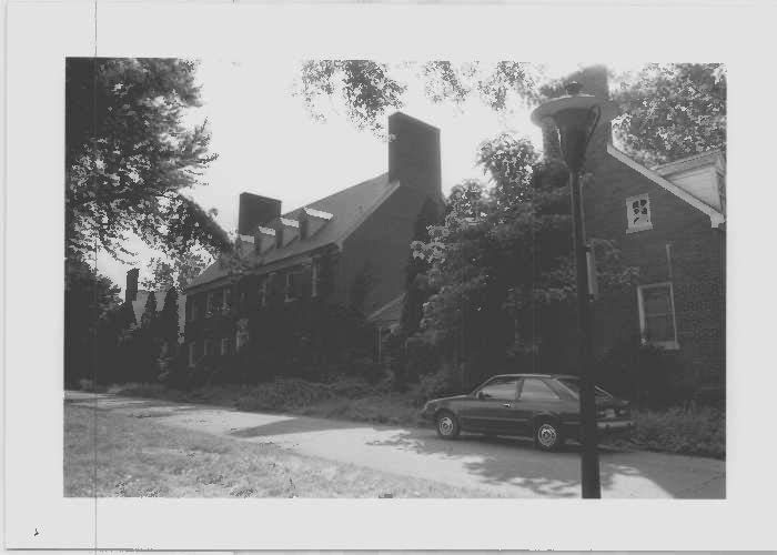 Capper Hall at Glenn Dale Hospital in the northeast