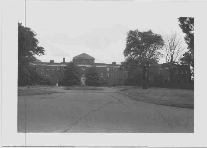 Image of Glenn Dale Hospital's Children's Hospital Building at north elevation