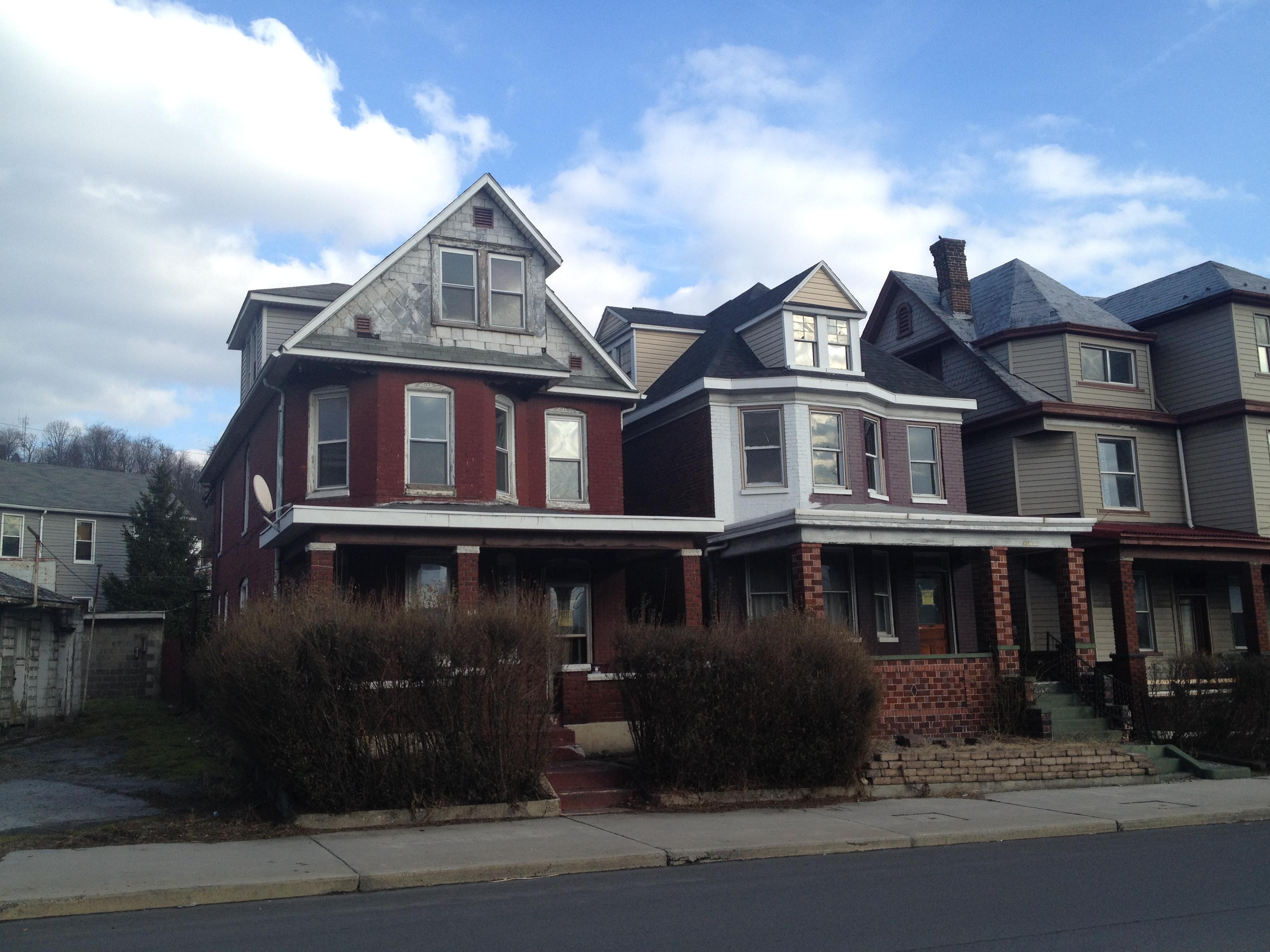 J.S. Seibert designed 404 Park Street in the Rolling Mill neighborhood of Cumberland, MD
