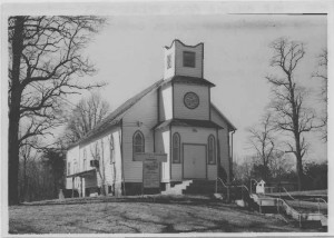 Pleasant View church in 1975