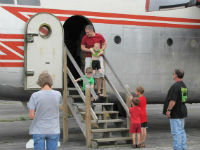 Photo from Father's Day 2013 at the Hagerstown Aviation Museum.