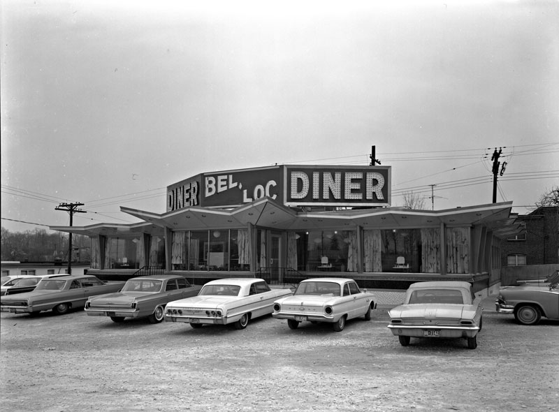 The Bel-Loc Diner, opening day, April 4, 1964