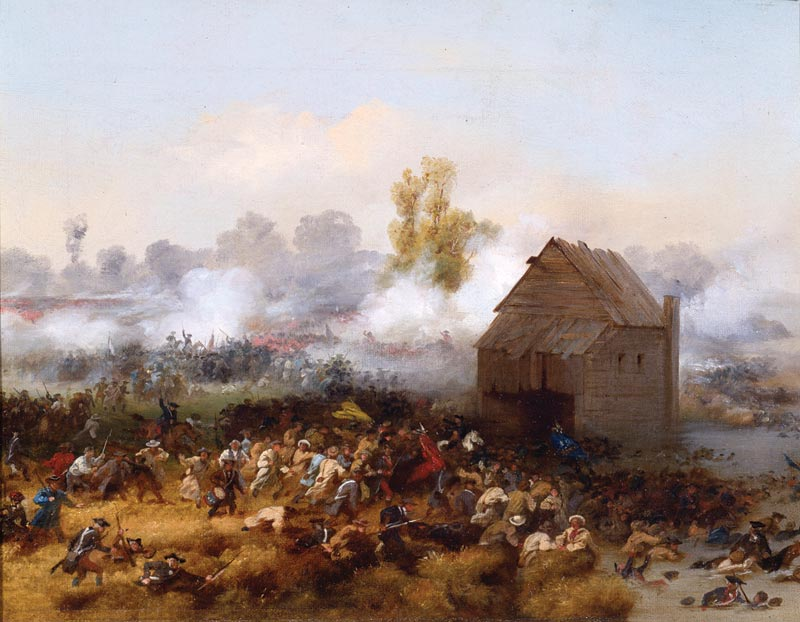 Battle of Long Island, 1858 Alonzo Chappel