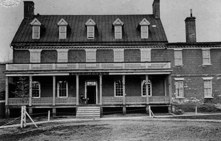 Mann's Tavern, courtesy Treaty of Paris Center