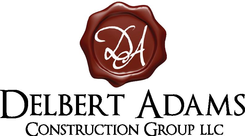 Delbert Adams Construction Group LLC. Logo