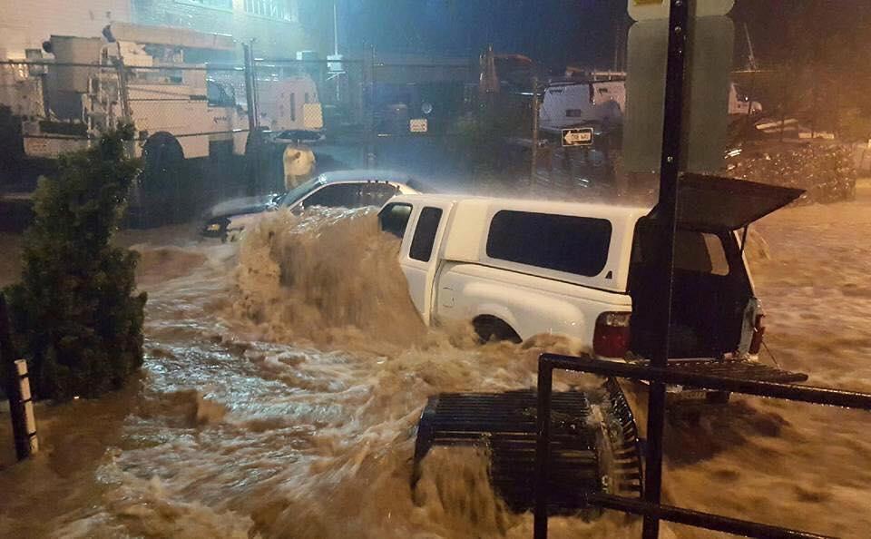 Ellicott City flooding, July 30, 2016