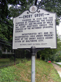 Emory Grove. Photo by Flickr user crazysanmanhistory.