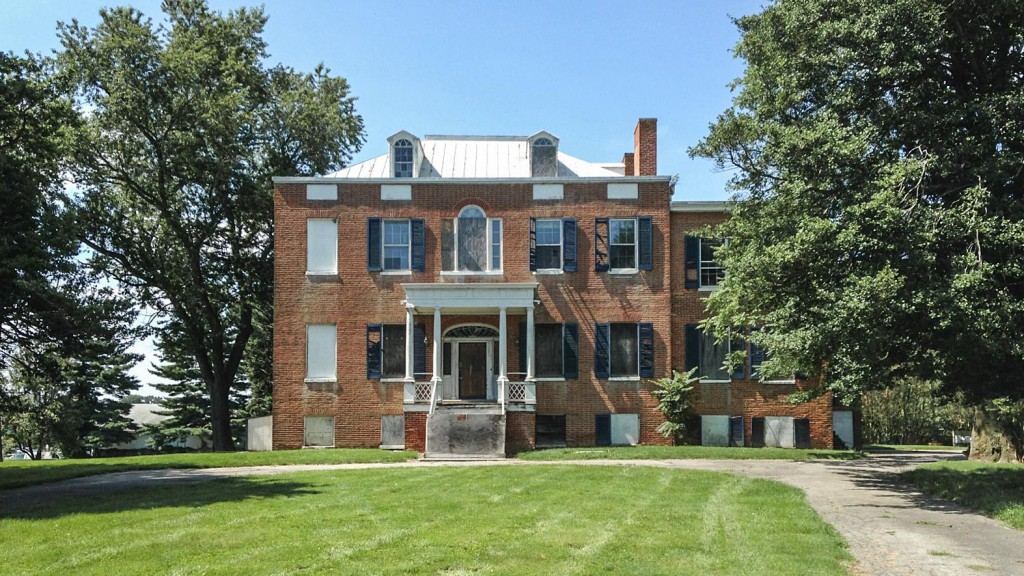 Preservation Maryland Holly Hall The Grand Dame Of Elkton