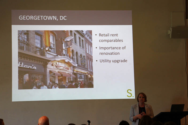 Heather Arnold, Streetsense, on how historic districts can work to attract businesses.