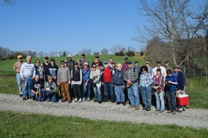 Antietam National Battlefield Clean-Up, volunteers
