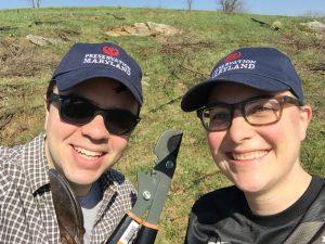 Image of Nicholas and Meagan in Antietam.