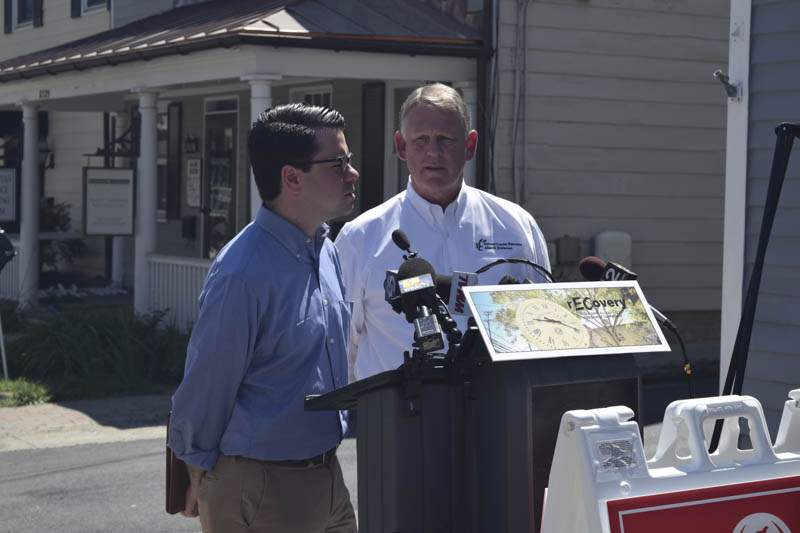 Preservation Maryland Ellicott City Press Conference in 2016