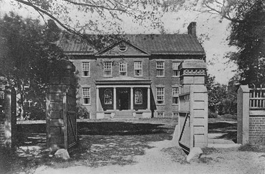 Duddington Manor, home of Daniel Carroll.