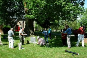 Photo from Coalition to Protect Maryland Burial Sites.