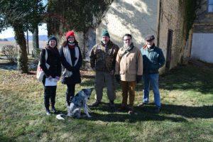 Preservation Maryland and Burkittsville Preservation Association at Shafer Farm, November 2016.