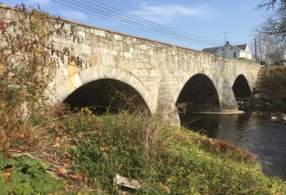 Image of Roses' Mill Stone Bridge, ca. 1839