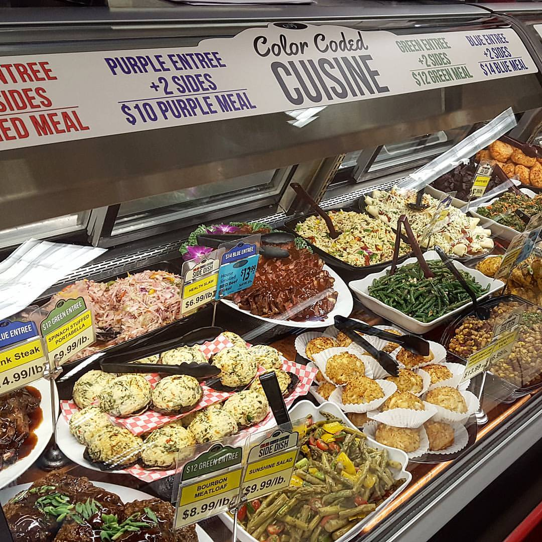 Photo of food from Santoni's Marketplace.