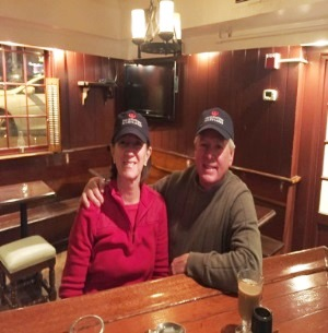 Diane and Jeff Caslow, on tour in Annapolis.