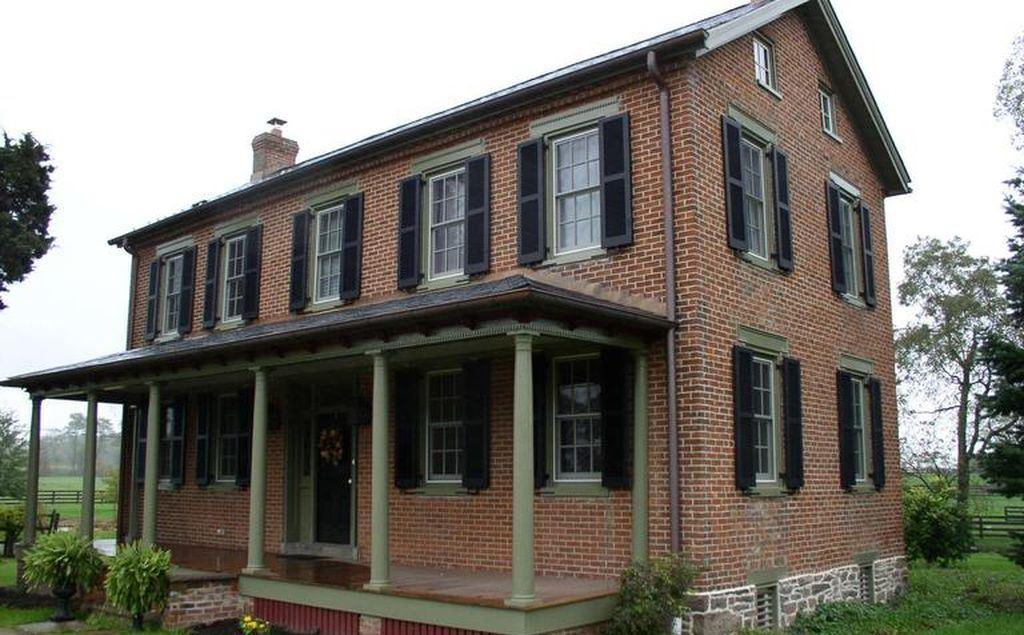 Historic farmhouse, Keymar, Maryland. Rehabilitated utilizing the federal rehab tax credit.