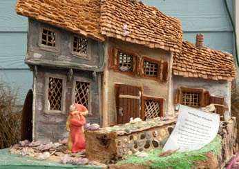 Colonial Vernacular Gingerbread Row Houses