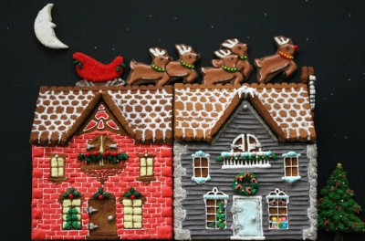 Federal Style Gingerbread Row Homes