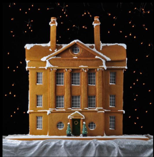 Georgian Gingerbread Mansion