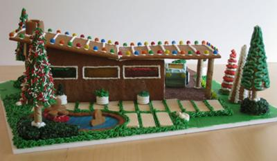 Modern Architecture Gingerbread House