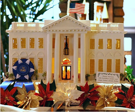 The White House Gingerbread