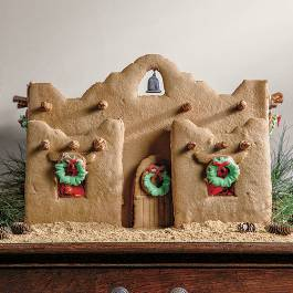 Spanish Style Gingerbread House
