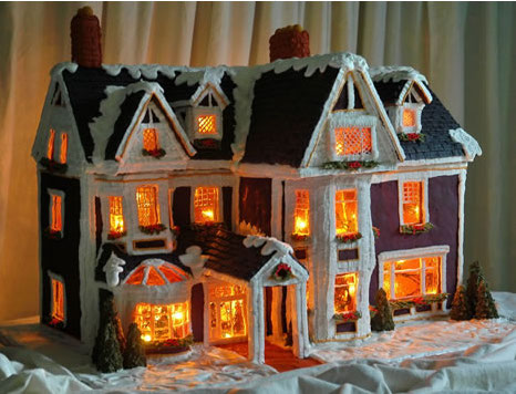 Queen Anne Gingerbread House