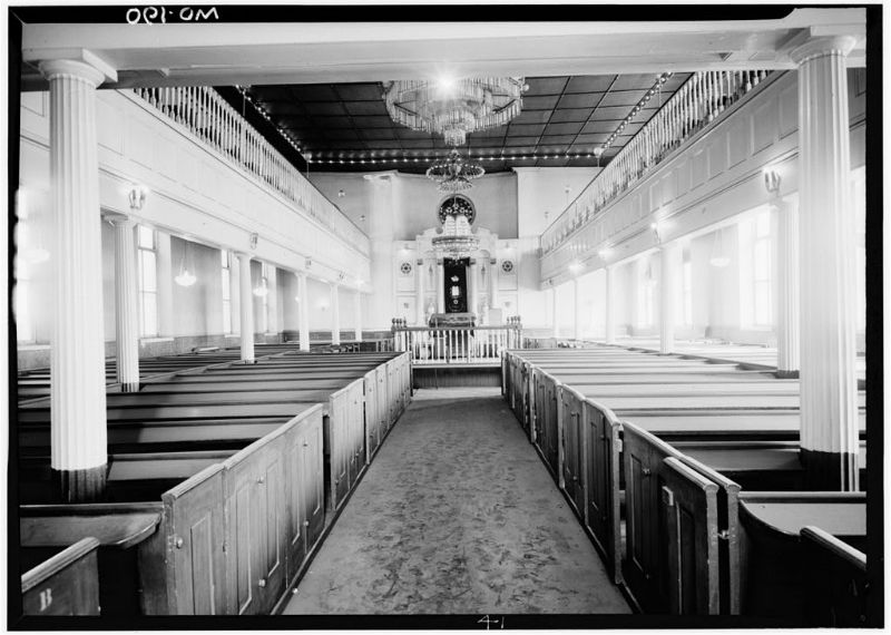 Lloyd Street Synagogue. Photo from Library of Congress.