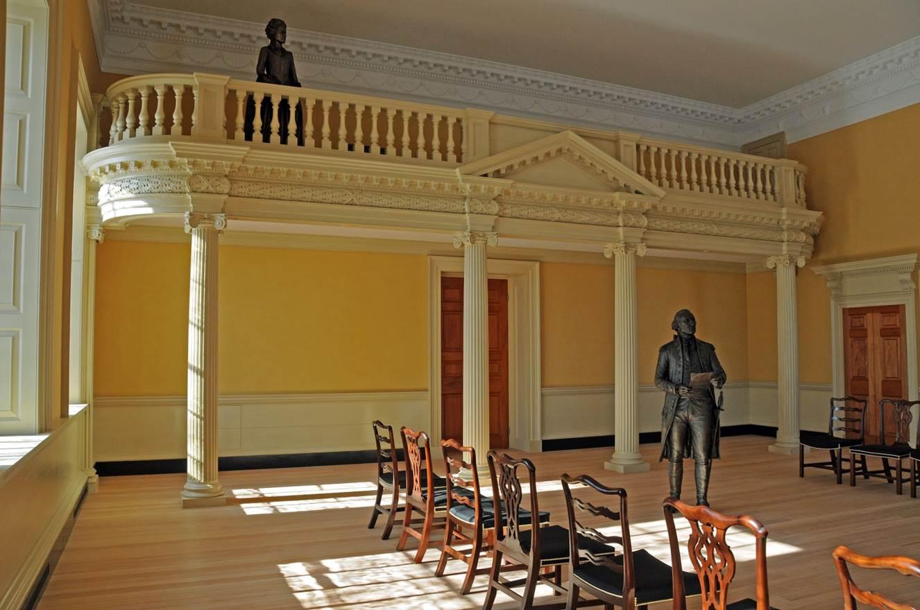 Maryland's restored Old Senate Chamber