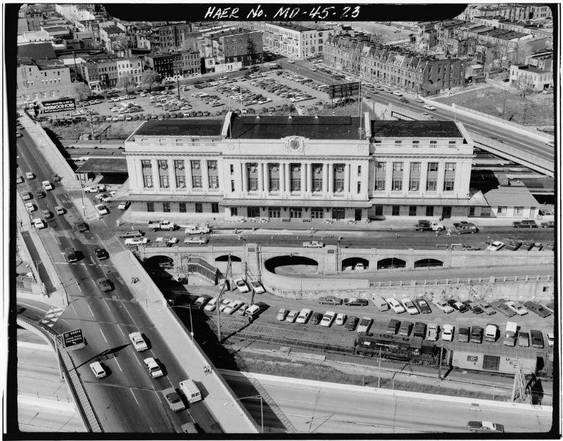 Penn Station in Baltimore, 1977