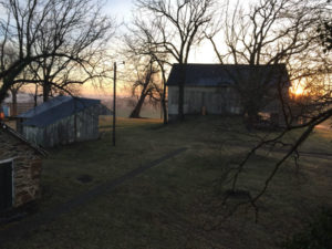 Shafer Farm barn and grounds at sunrise. Photo by Todd Remaley.
