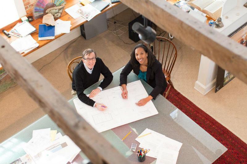Nakita Reed and Ward Bucher of Encore Sustainable Design.