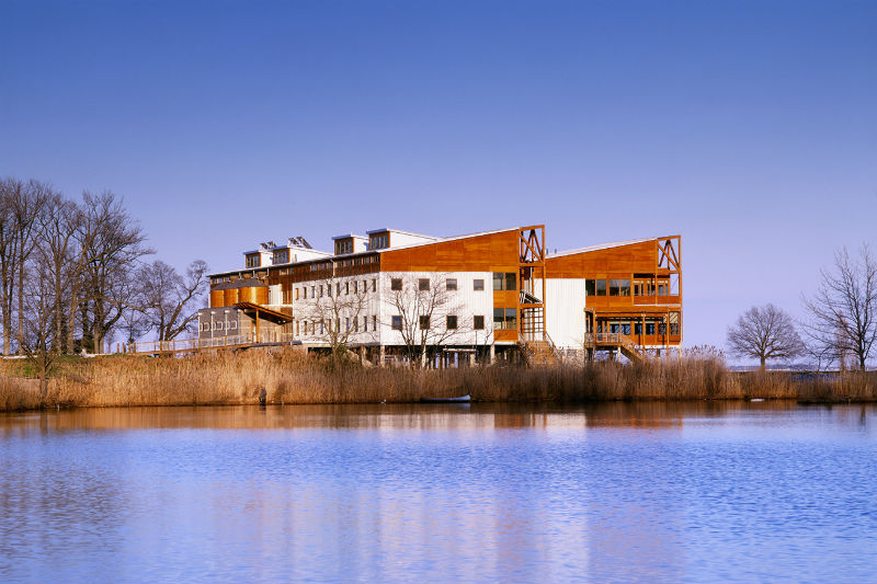 Philip Merrill Environmental Center in Annapolis. Photo from Smith Group.