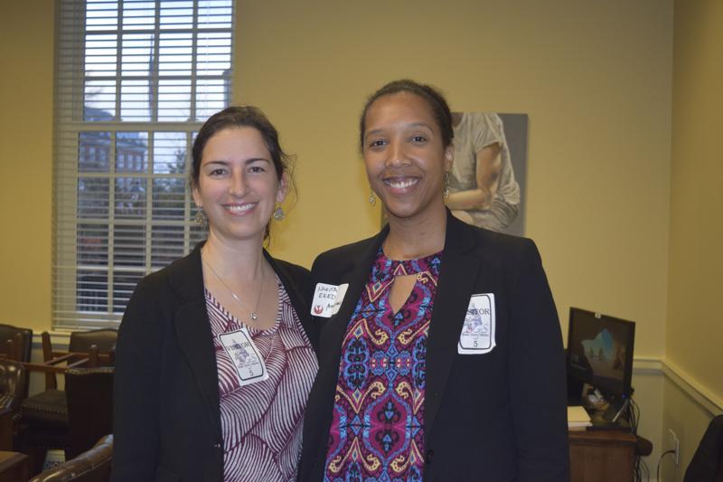 Renee Novak, Field Director, with Board Member, Nakita Reed.