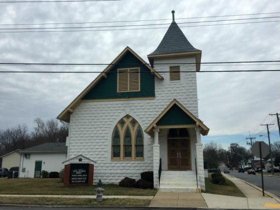 St. Mark's United Methodist Church.