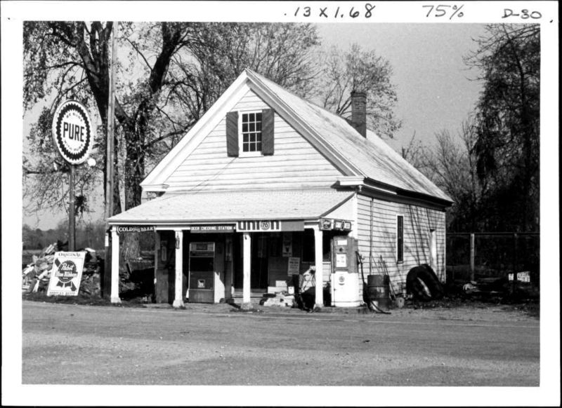 Buckstown Village Store, 1975. Photo from Maryland Historical Trust.