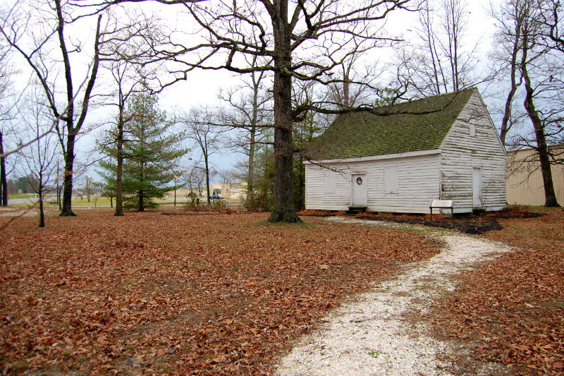Tuckahoe Meeting House. Photo from Caroline County Historical Society.
