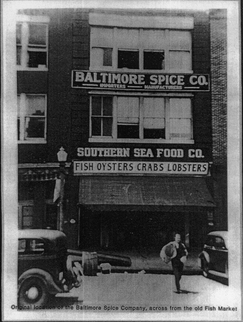 Baltimore Spice Company. Image from Jewish Museum of Maryland