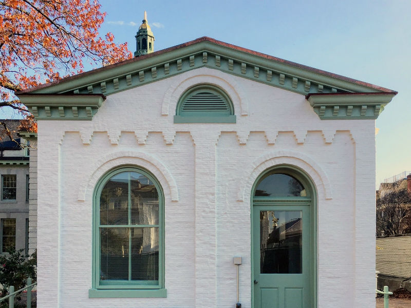 John Tower and The Tower Co. restored the guard houses of the Naval Academy in Annapolis